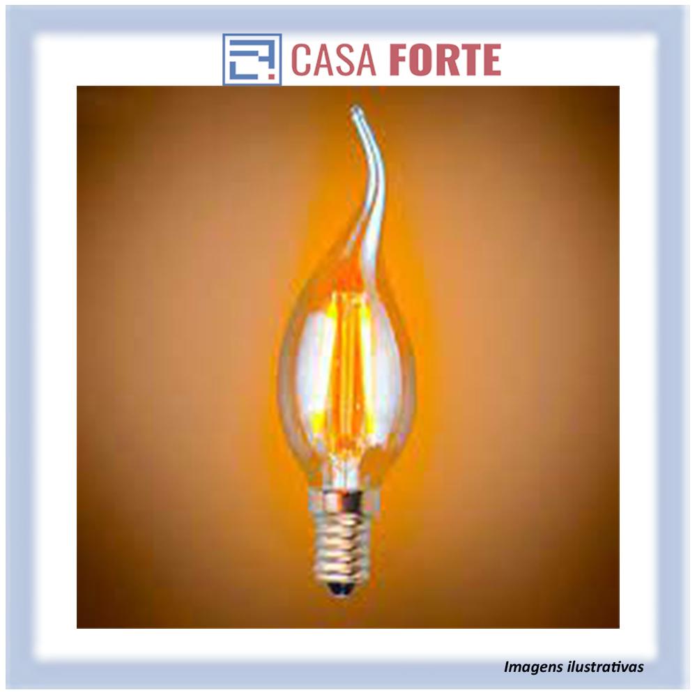 Lâmpada Filamento Led Retrô Vintage 4w E14 Quente C35