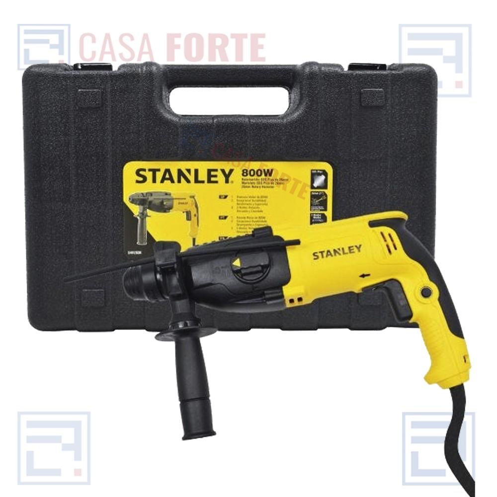 Martelete SDS Plus com 2,4J 800W 127v Stanley