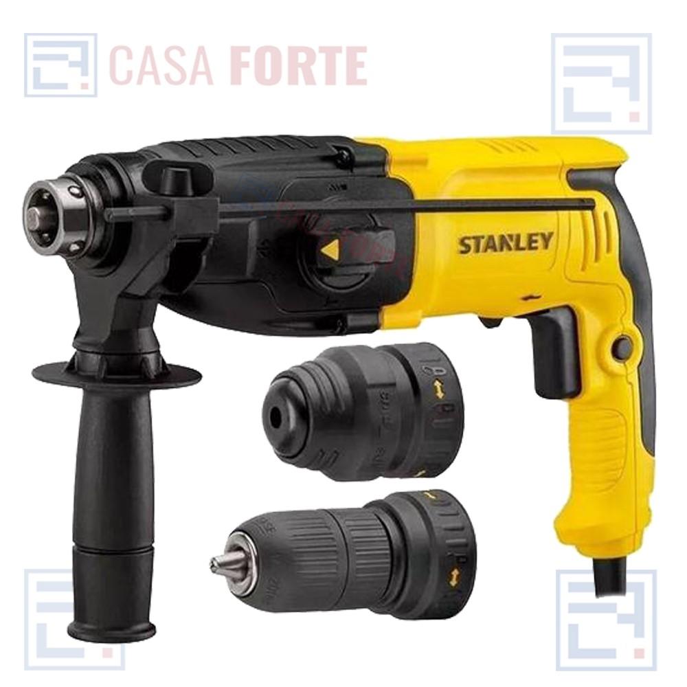 Martelete SDS Plus com 2,4J 800W 220v Stanley