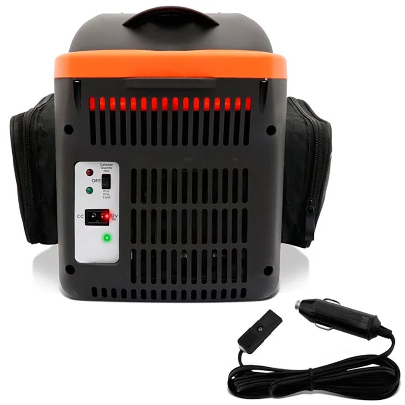 Mini Geladeira Portátil 8 Litros Viagem Black Decker 12v