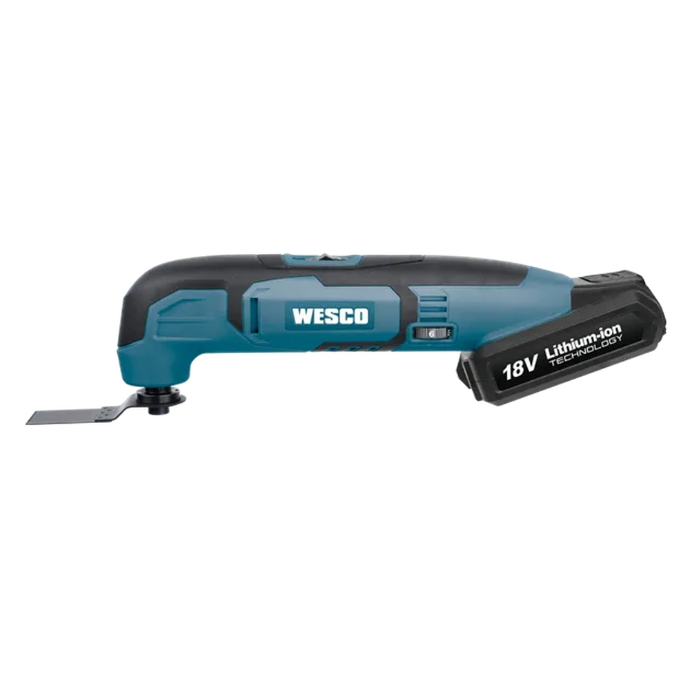 MULTIFERRAMENTA OSCILANTE BATERIA 18V LITIO - WESCO