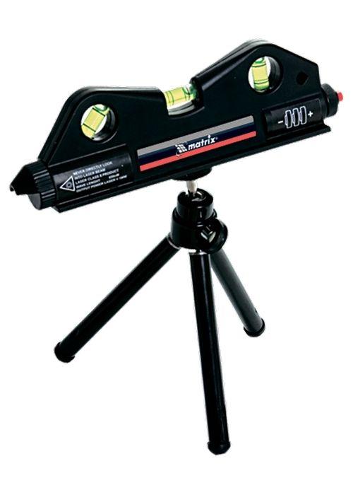 Nível Laser 170mm Com Tripé 150mm 3 Bolhas Nivelamento