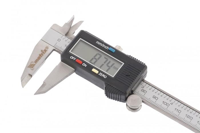Paquímetro Digital Em Aço - 150 Mm - Estojo Protetor