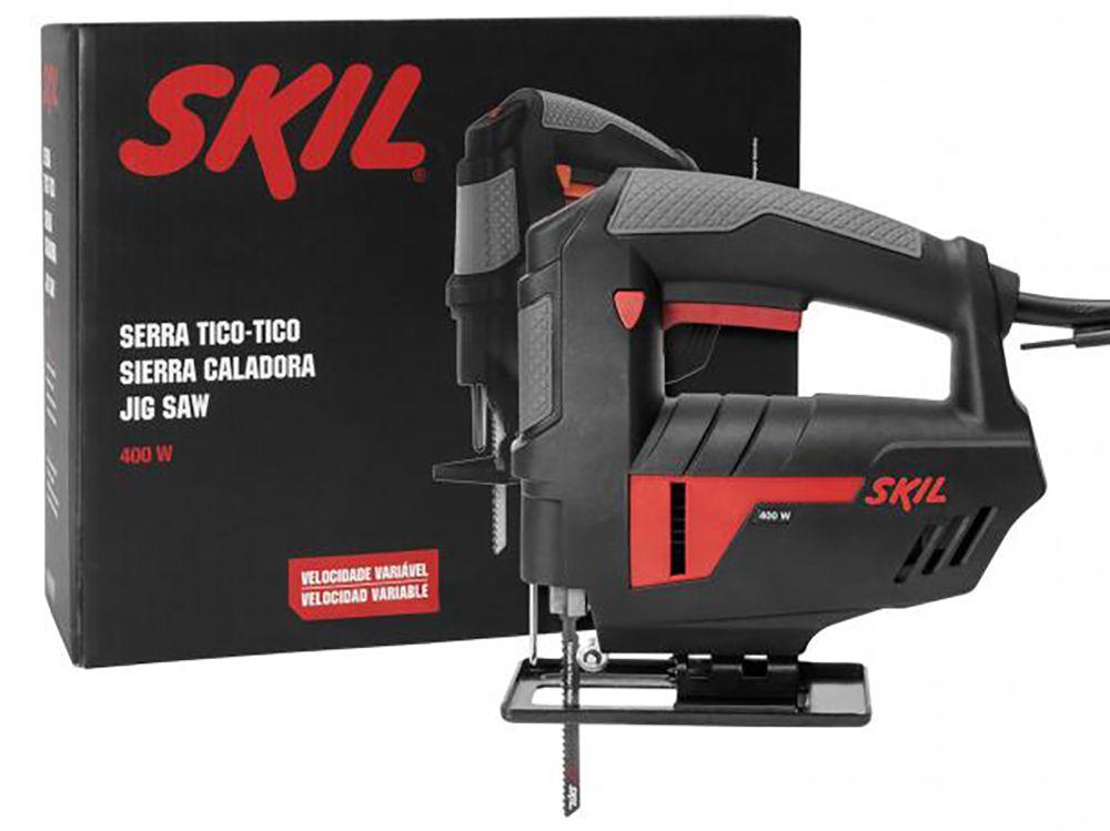 Serra Tico-Tico com Velocidade Variável 400W 4400 Skil - 127V