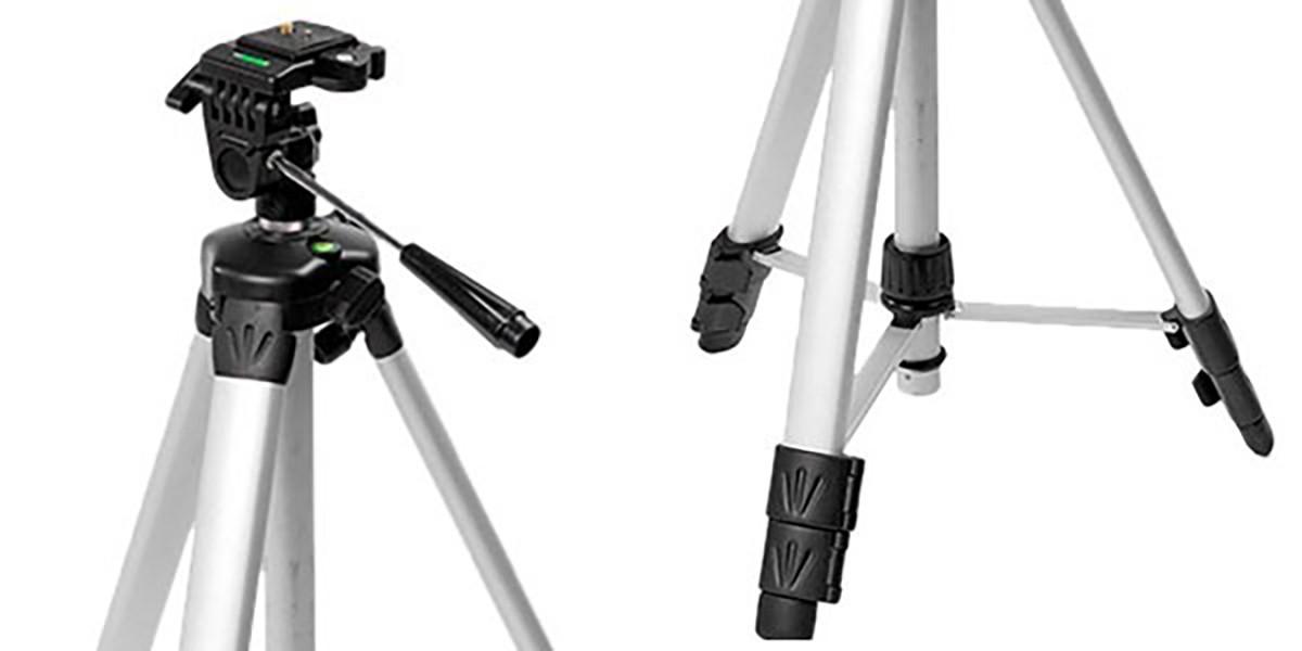 """Tripé Rosca 1/4"""" Níveis Lasers Câmeras Fotográficas Stanley"""