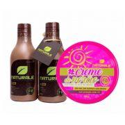 Escova Progressiva Naturale Orgânica 300ml + Creme Do Verão