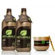 Kit Escova Progressiva Orgânica Naturale 1000ml + Manteiga de Bambu F0 Naturale