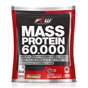Mass Protein FTW - Refil 3 Kg - Sabor Morango - Fitoway
