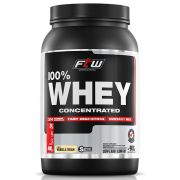 Whey Protein 100% Concentrated - FTW - 900g - Sabor Baunilha - Fitoway