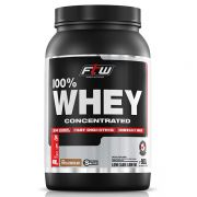 Whey Protein 100% Concentrated FTW - 900g - Sabor Chocolate - Fitoway