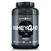Whey Protein 4HD Black Skull - 907g - Sabor Chocolate