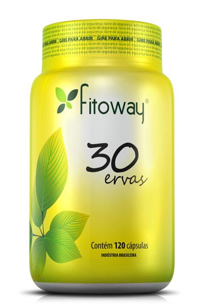 30 Ervas Fitoway - 120 caps