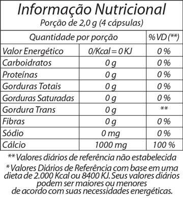 Cálcio de Ostras Fitoway c/ 180 cápsulas - Nutri & Cosméticos