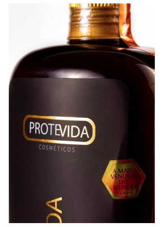 Escova Progressiva PROTEVIDA - Original - 2X1000ml
