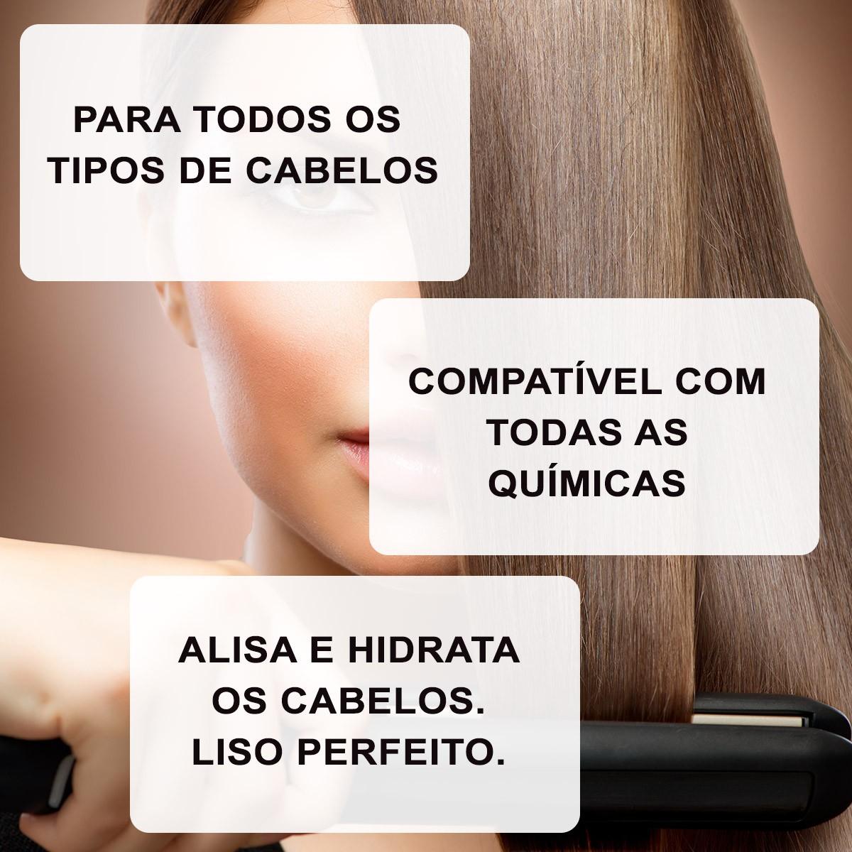 Escova Progressiva Super Liss BLACK - 2x1Litro - SuperLiss