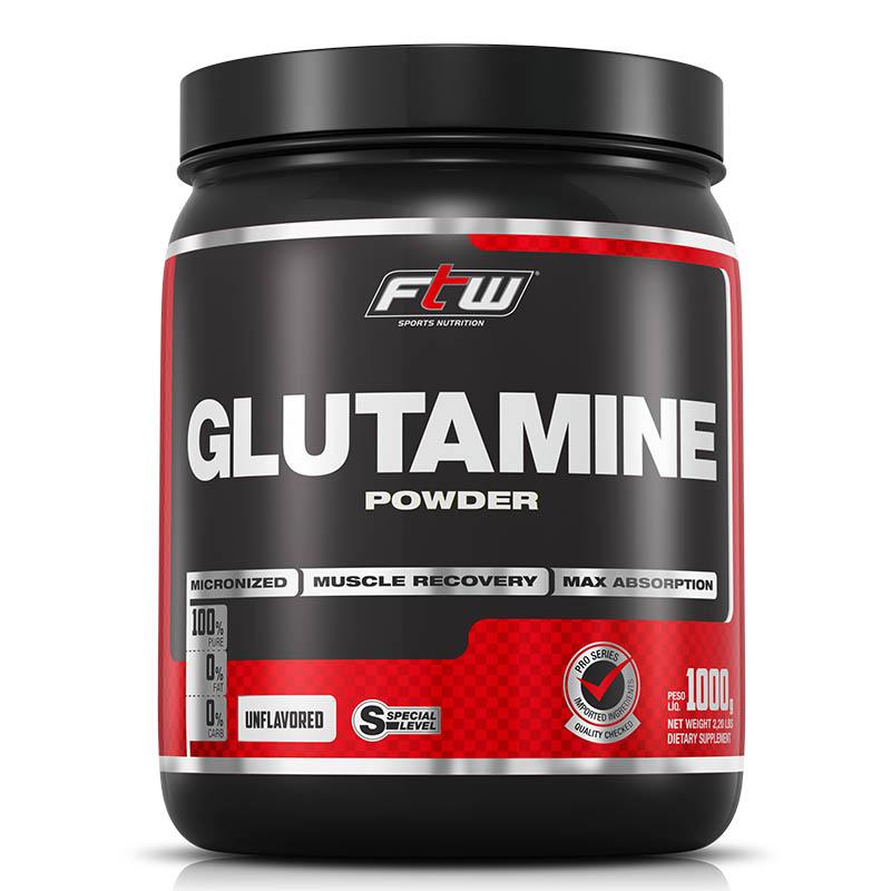 Glutamina - Glutamine Powder - FTW - 1 Kg - Fitoway