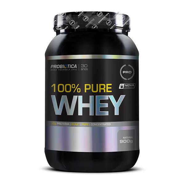 100% Pure Whey 900g Concentrado - Probiotica