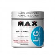 100% L-GLUTAMINA L-G 300G - MAX TITANIUM