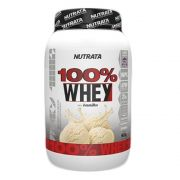 100% WHEY 900G - NUTRATA