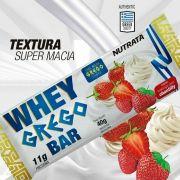 Caixa Whey Grego Bar 12 Unidades Barra Proteica - Nutrata