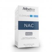 CLEANLAB NAC 600MG - 60 CAPS - ATLHETICA