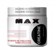Creatine 100g Monohidratada - Max Titanium