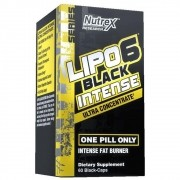 LIPO 6 BLACK INTENSE ULTRA 120 CAPS - NUTREX