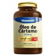 OLEO DE CARTAMO 1000mg 120 CAPS - VITAMIN LIFE