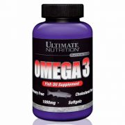 OMEGA 3 1000MG 180 SOFTGELS ULTIMATE NUTRITION