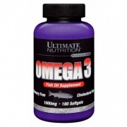 Omega 3 Fish Oil Supplement 90 Capsulas - Ultimate Nutrition