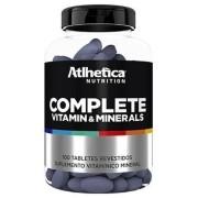 Complete Vitamin & Minerals 100 Tabletes - Atlhetica