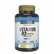VITAMIN D3 2000UI 60CAPS NATURE - NUTRATA