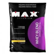 Saco Whey Blend 2kg Albumina - Max Titanium