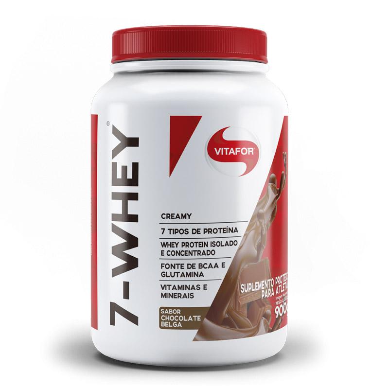 7-Whey Creamy 900g Isolado Concetrado - Vitafor