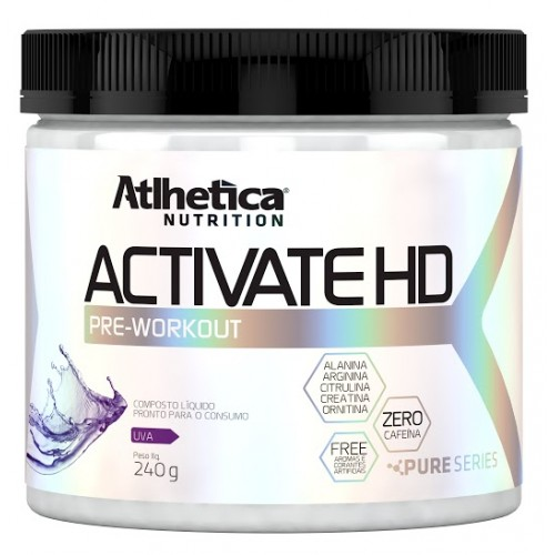 Activate HD Rodolfo Peres 240g - Atlhetica