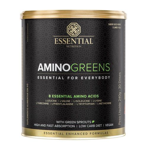 AMINO GREENS LATA 240g/DS ESSENTIAL