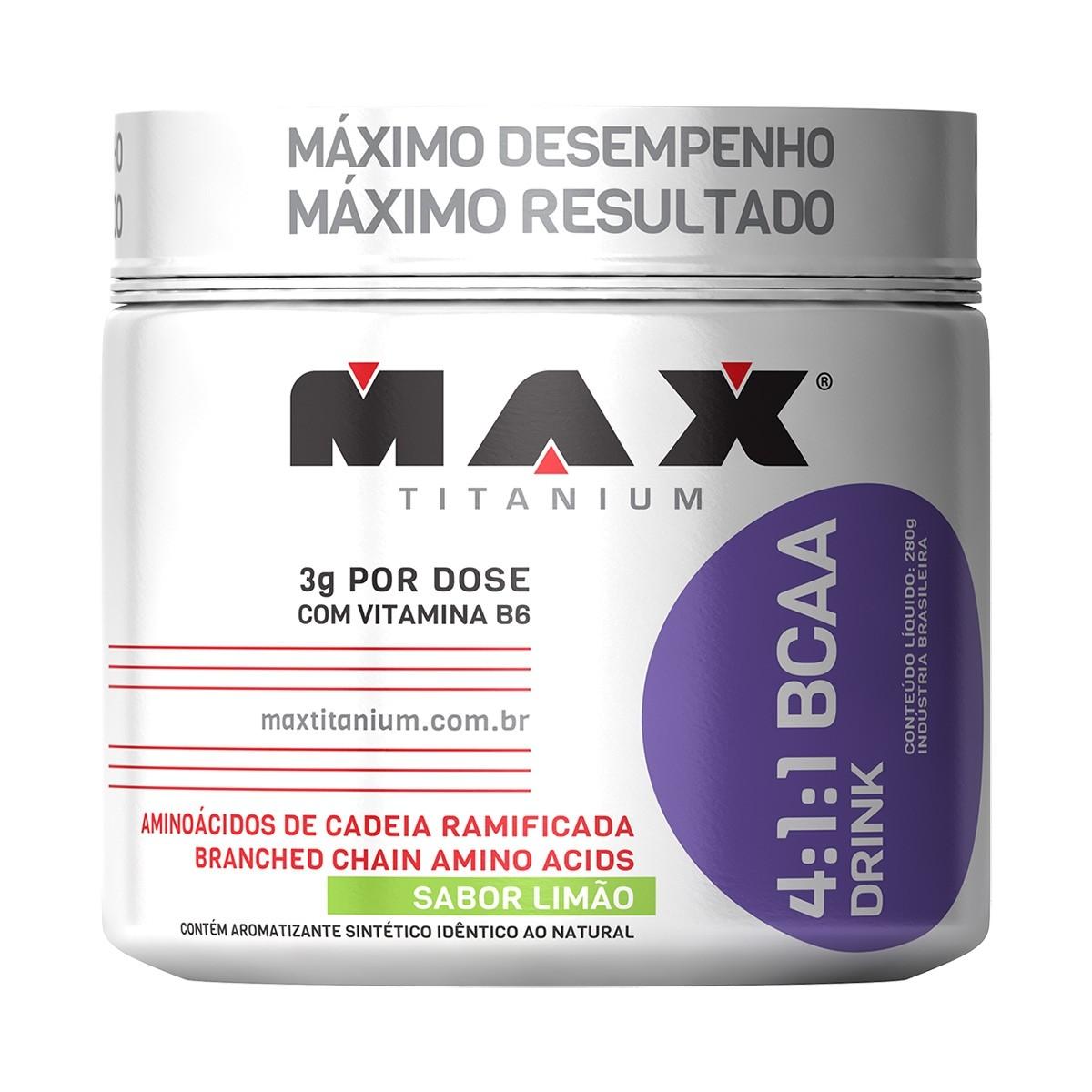 Bcaa Drink 280g 4:1:1 - Max Titanium