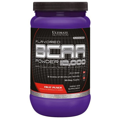 BCAA POWDER 12000 450g - ULTIMATE NUTRITION