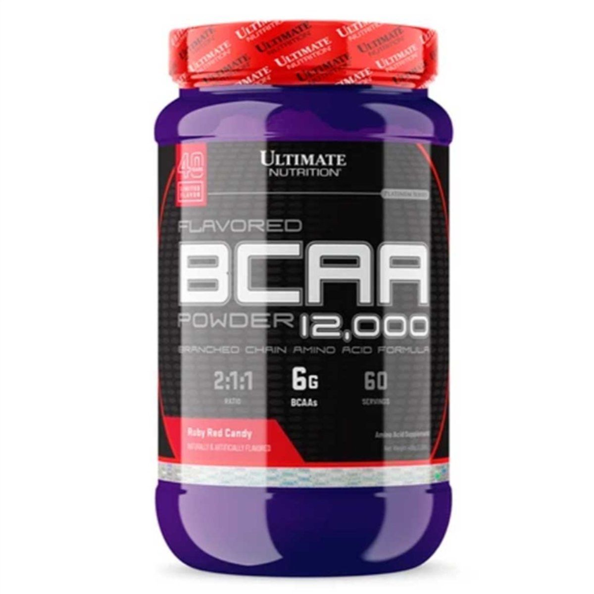 BCAA POWDER 12000 244g RUBY RED - ULTIMATE NUTRITION