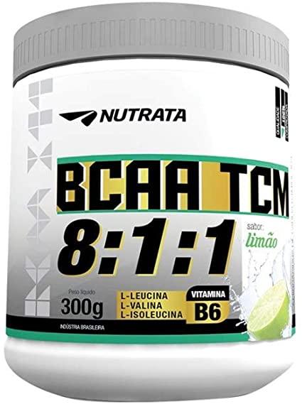 BCAA TCM 8:1:1 - LIMÃO 300G - NUTRATA
