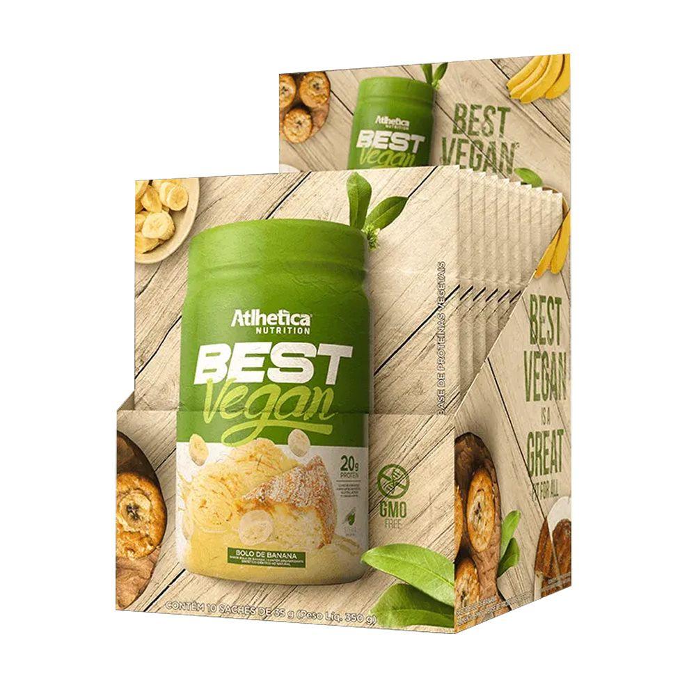 BEST VEGAN SACHE 35g UNIDADE - ATLHETICA NUTRITION