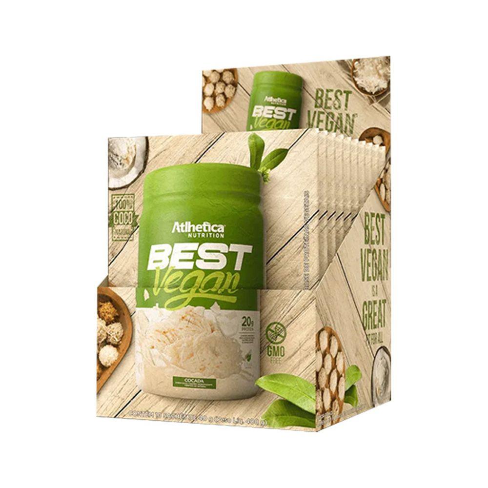 BEST VEGAN SACHE 40 GRS - ATLHETICA NUTRITION