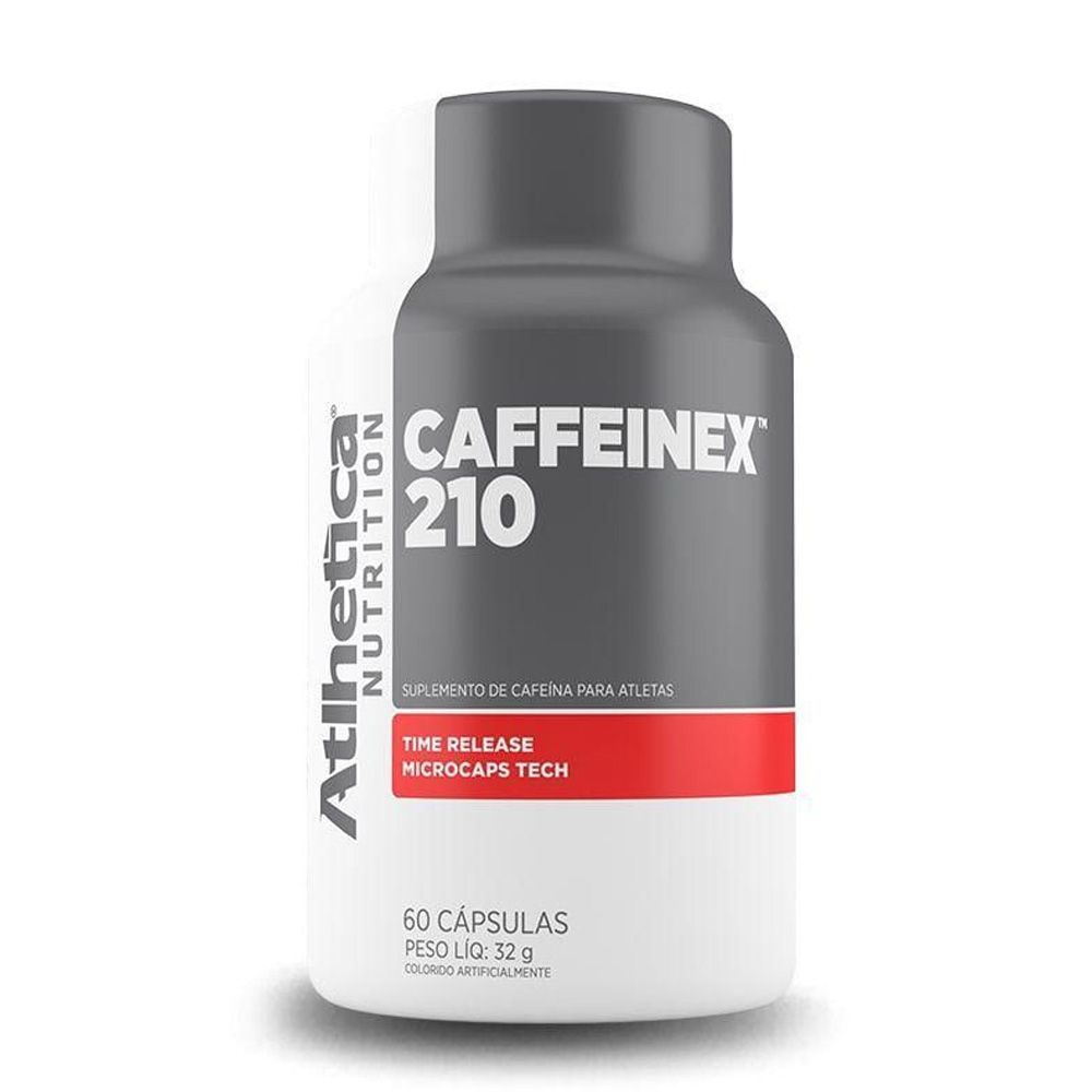 CAFFEINEX 210MG 60 CAPSULAS ATLHETICA NUTRITION