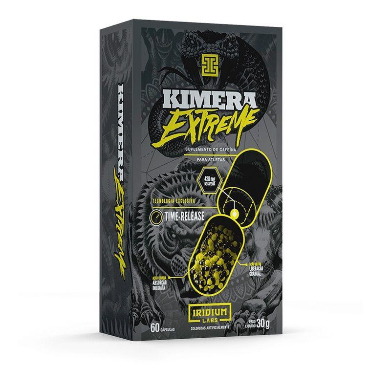 Caixa Kimera Extreme 60 Cápsulas 56g - Iridium Labs