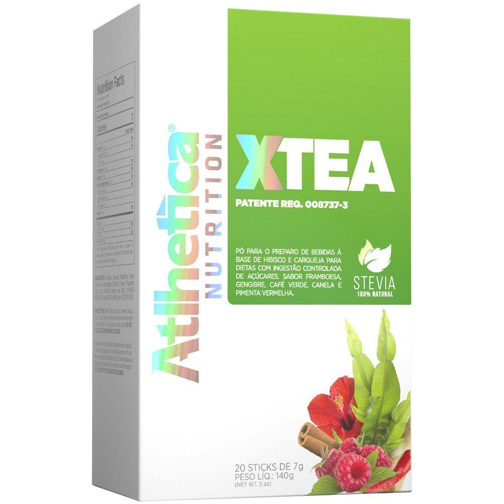 Caixa Xtea 20 Sticks Mix De Sabores - Atlhetica