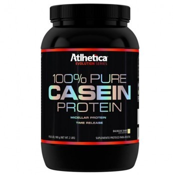 100% Pure Casein Protein (900g) - Atlhetica Nutrition