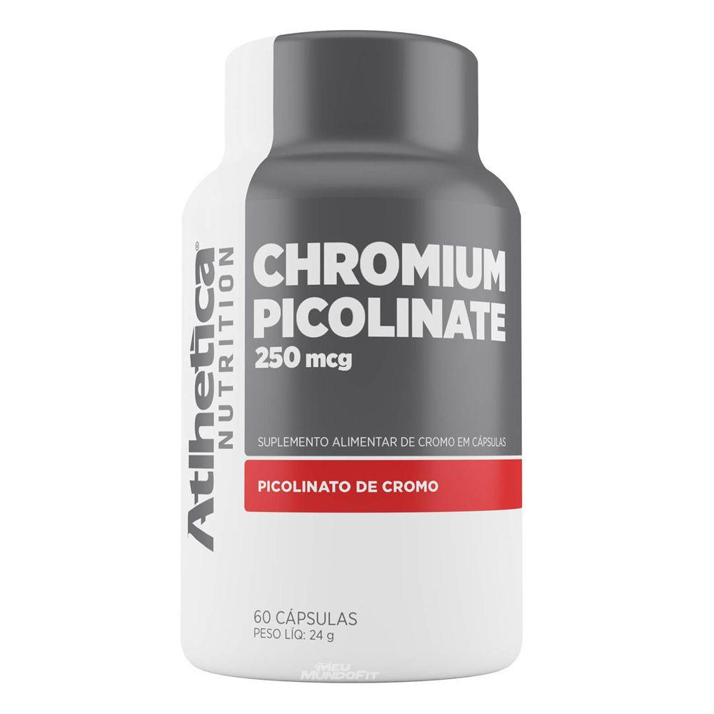 CHROMIUM PICOLINATE 250 mcg 60 CAPSULAS