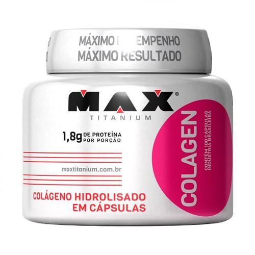 Colagen 500 - 100 capsulas - Max Titanium