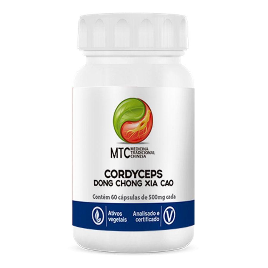 Cordyceps 60 Cápsulas Dong Chong Xia Cao Mtc - Vitafor