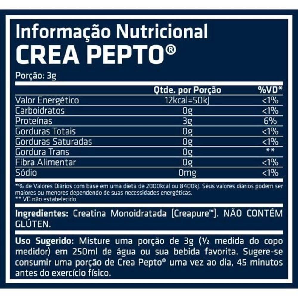 Crea Pepto Endurance Fuel 300g Creapure - Performance